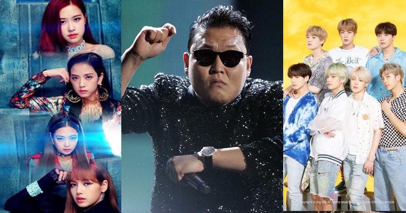 7 Fastest K-Pop MVs To Reach 1 Billion Views On YouTube: BTS Has New Entry, PSY Is Still The King