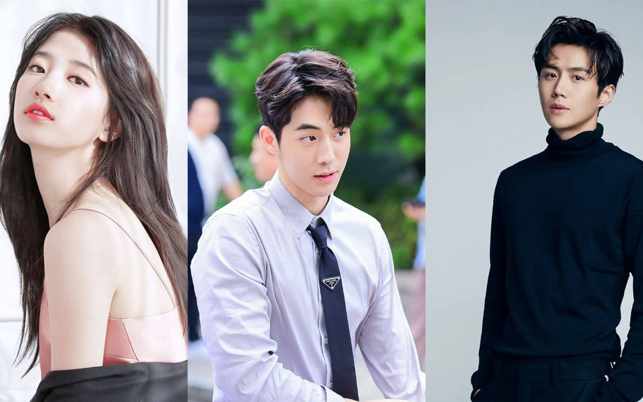 "Suzy, Nam Joo Hyuk, And Kim Seon Ho Play a Card Game Tensively in ""Start-Up"""