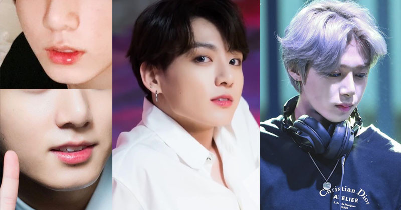 Male Idols Have Cutest Up-Turned Lip Corners