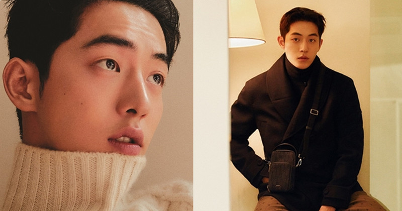 Nam Joo Hyuk Gives Off Warm Autumn Vibes In New Pictorial For GQ Korea
