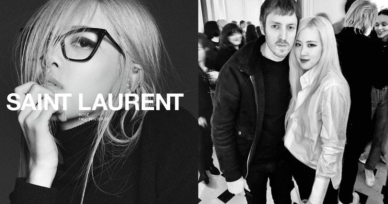 BLACKPINK Rosé Revealed Her Bond With Saint Laurent