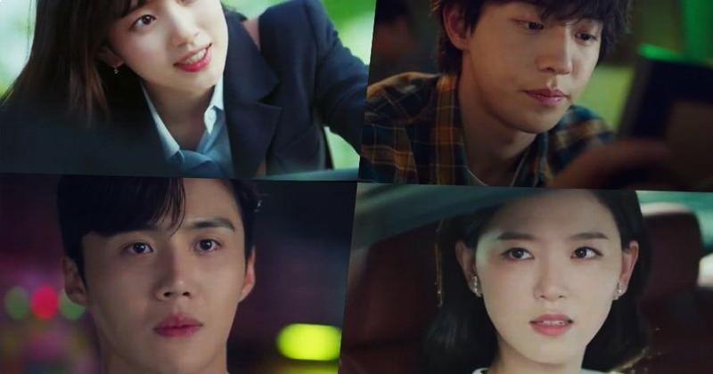 "Suzy, Nam Joo Hyuk, Kang Han Na, And Kim Seon Ho Are Destined To Meet In ""Start-Up"" Teaser"