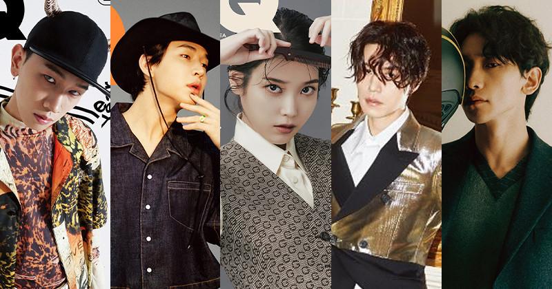 Lee Dong Wook, IU, Rain, Henry, Crush Chosen As '2020 People of the Year' By GQ Korea