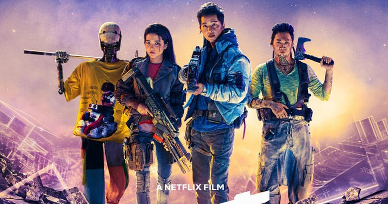 Netflix Movie 'Space Sweepers' Unveils Poster Starring Song Joong Ki, Kim Tae Ri And More