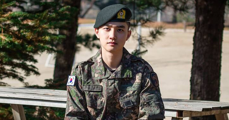 EXO D.O. Officially Discharged From Military Service Today, January 25