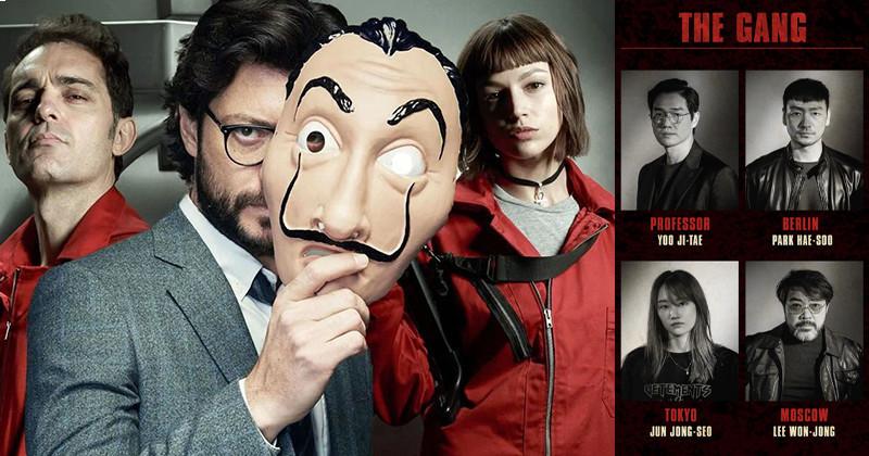 Netflix Reveals Complete Cast Of Upcoming Korean Remake Of 'Money Heist'