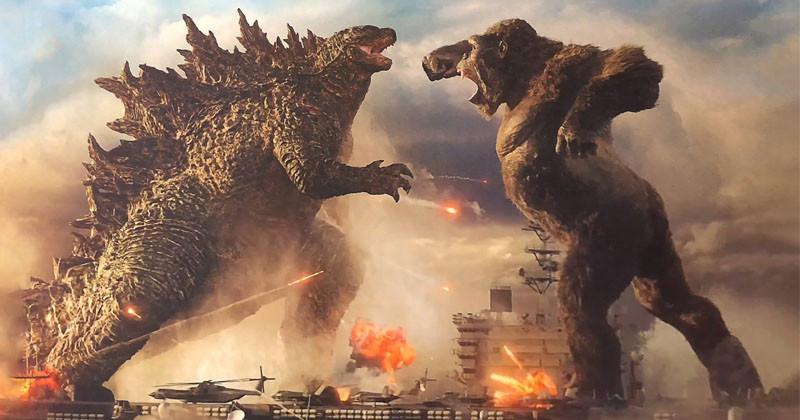 Super Blockbuster Godzilla vs. Kong Releases Trailer
