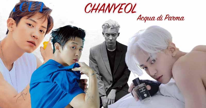 EXO Chanyeol - The Perfect Muse Of Italy Perfume Brand Acqua Di Parma
