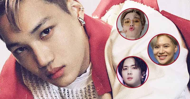 EXO member Kai Reveals How His Friends BTS Jimin, SHINee Taemin and VIXX Ravi Reacted To His Solo Debut