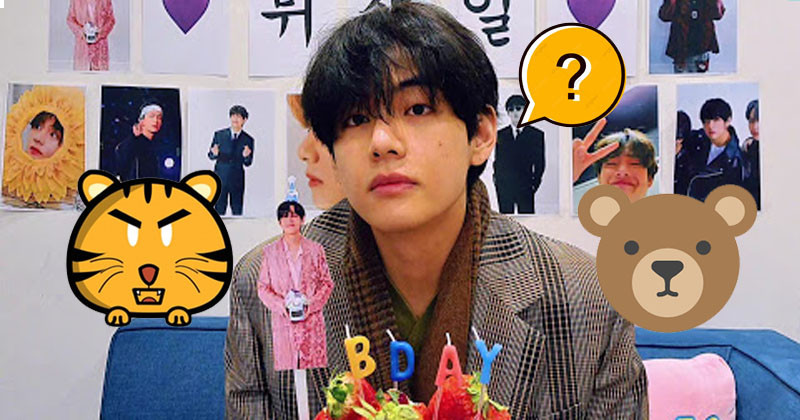 BTS's V Replies Fans Whether He Looks Like A Bear Or A Tiger