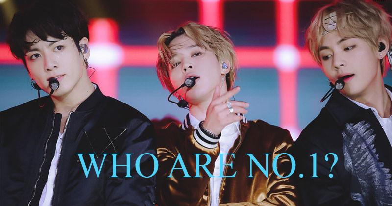 BTS Top Spots in January Boy Group Member Brand Reputation Rankings