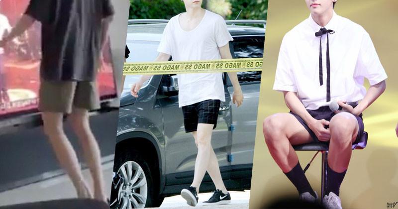 4 Male K-Pop Idols Have Too Beautiful Legs