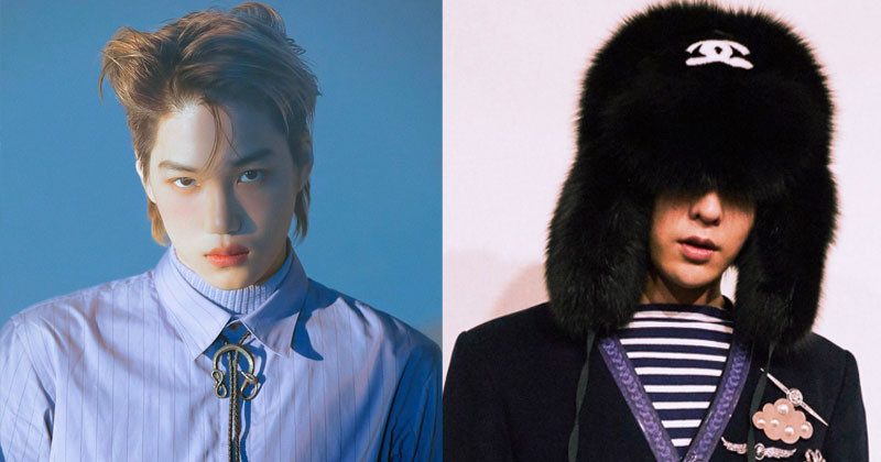 When G-Dragon and Kai Wear The Same Hairstyle, Who Looks Better?
