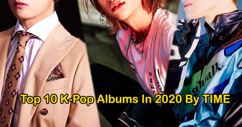 Top 10 K-Pop Albums That Redefine This Year of 2020, According to Time Magazine