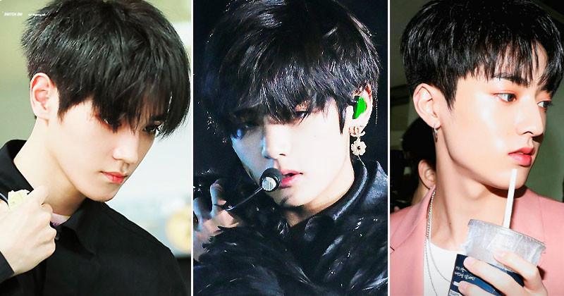 Top 10 Male Idols Chosen As Look Best In Black Hair