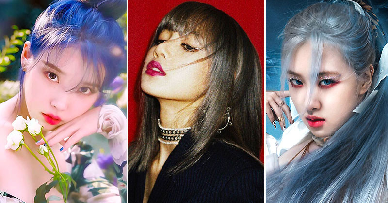"""BLACKPINK Rosé, Lisa, IU and More: Who Will Claim As """"SOLO QUEEN"""" in 2021?"""
