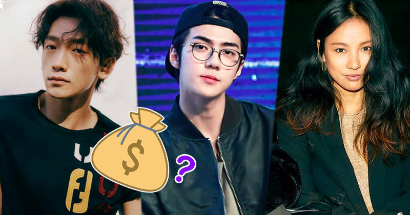 Top 14 Richest K-pop Idols with Billion Won Real Estate Market Profits
