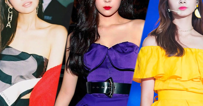 Top 6 Female Idols with Perfect Shoulder Lines Selected by Dispatch
