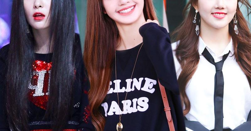 Top 10 Female K-Pop Idols Look Best With Bangs by Dispatch