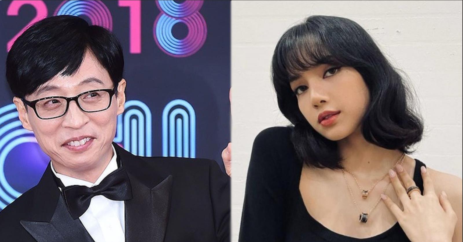 Yoo Jae Suk Reveals BLACKPINK Lisa Solo Debut Will be in July