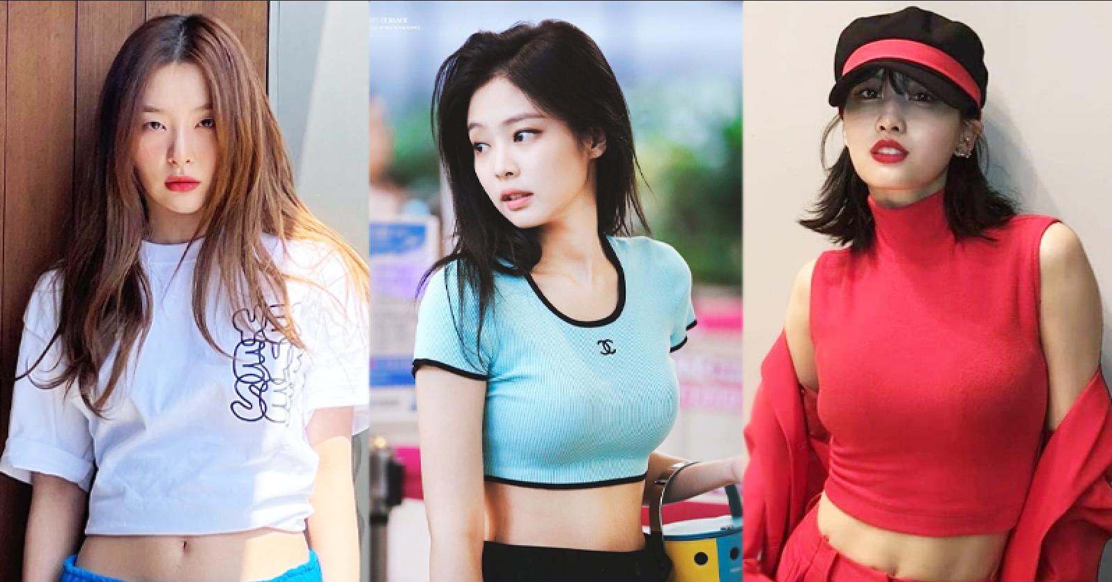 Female Idols Wearing Crop Tops Stirs Controversy in Korea | starbiz.net
