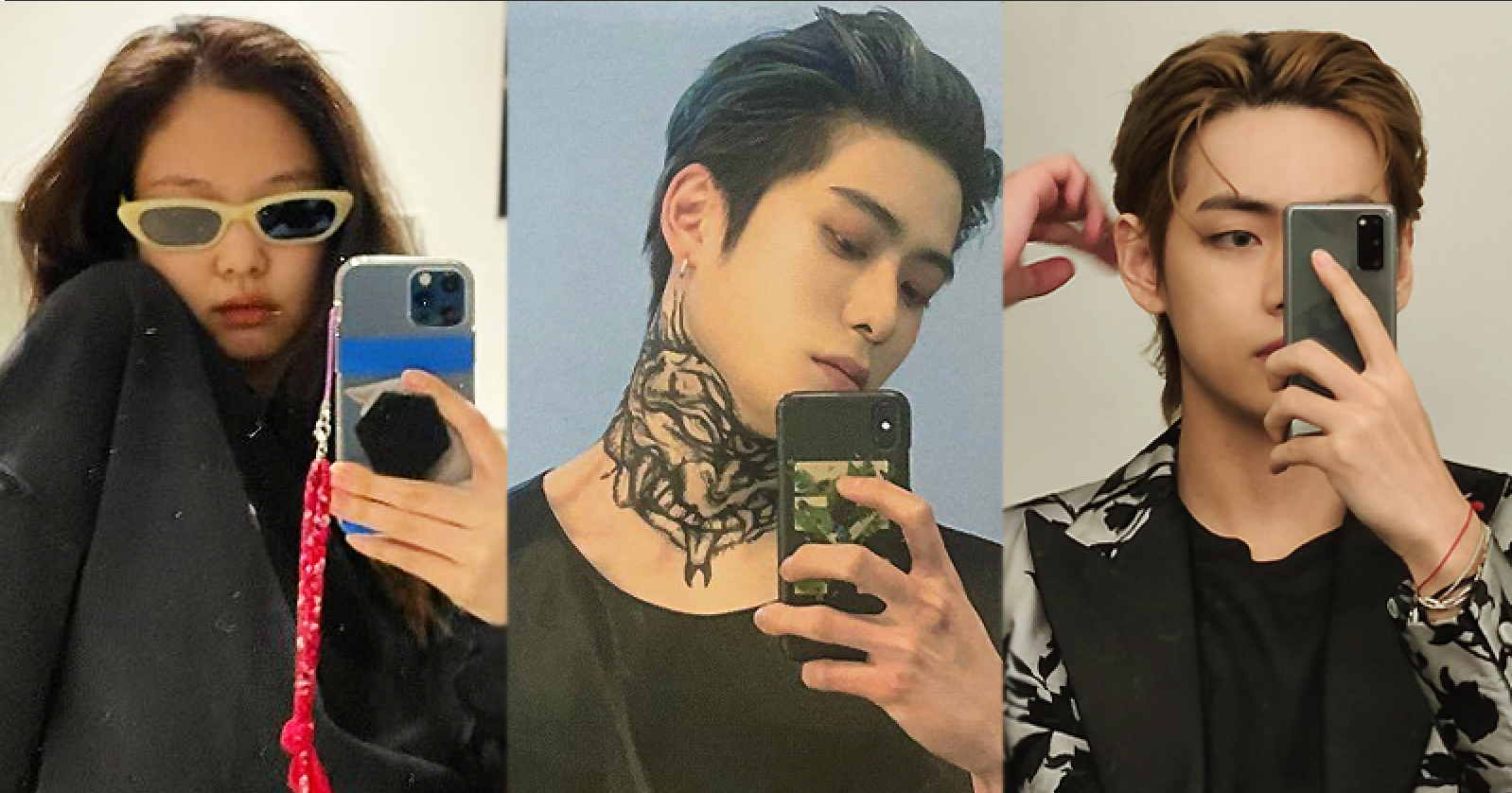 Top 10 K-Pop Idols Who Have Mastered The Mirror Selfie