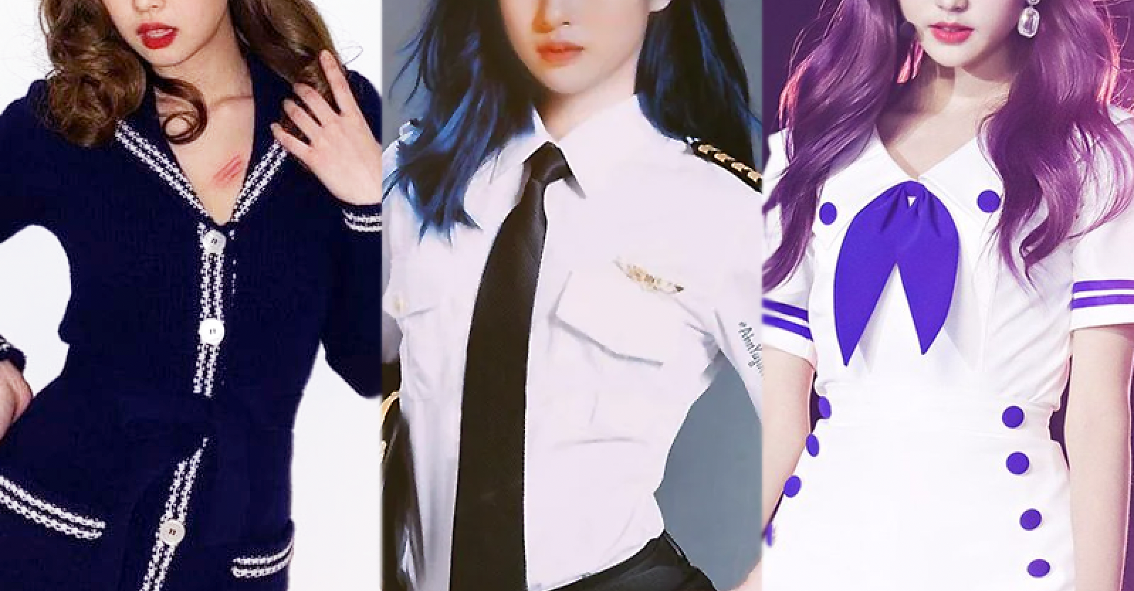 Dispatch Selects the 7 Female Idols Who Look The Best In Sailor Outfit