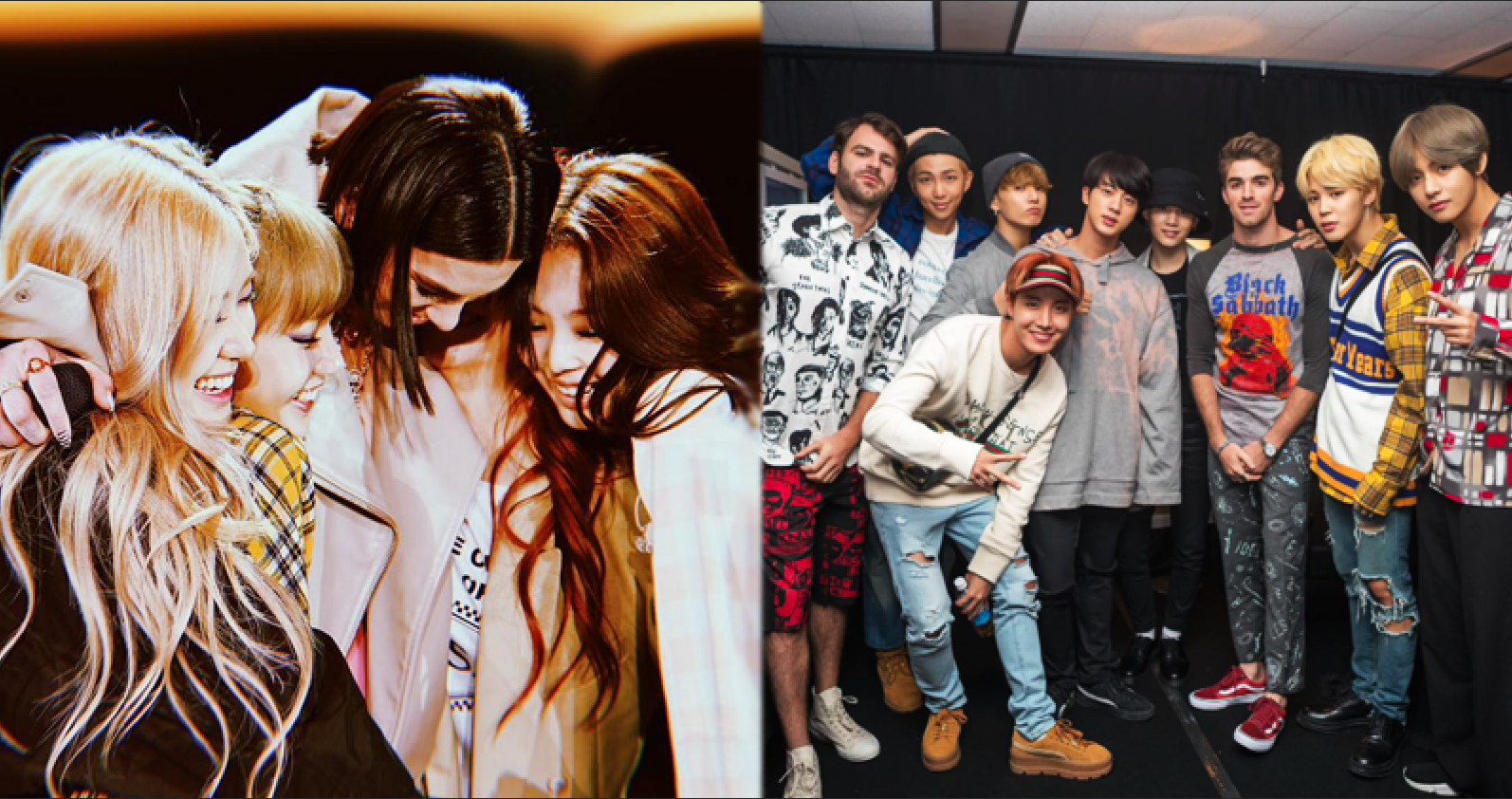 Most Iconic K-Pop Collaborations With Western Artists By Taiwanese Media Outlet