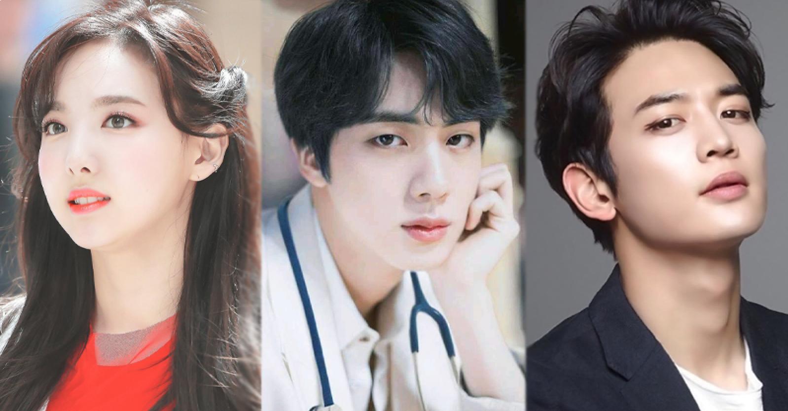 The K-Pop Idols That are Face Geniuses Voted By Konkuk University Students Alumni