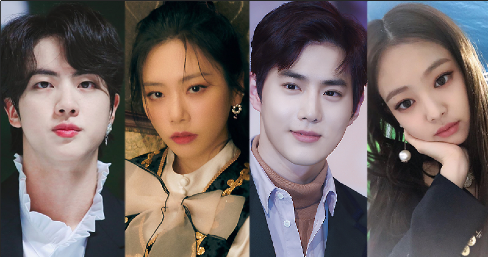 Forbes Korea Selects Top 'Visual Queen and King' of the K-pop Industry
