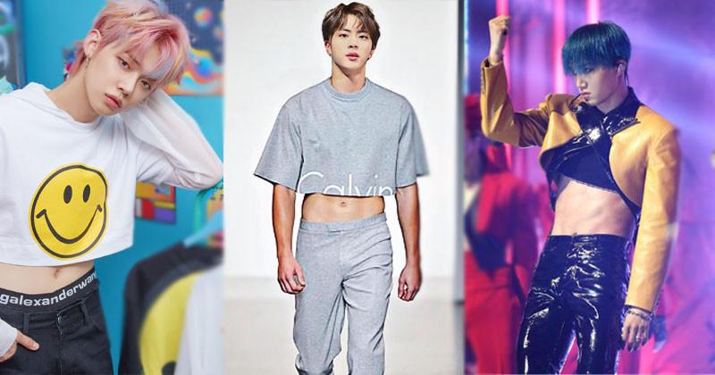 Top 20 Male K-Pop Idols That Stunning In Crop Tops