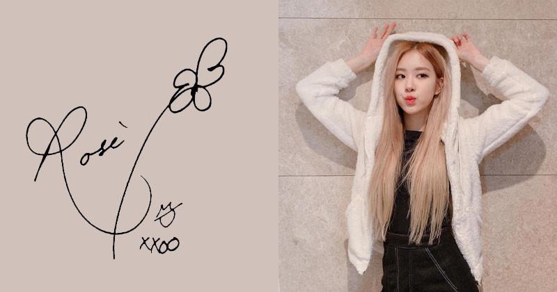 Top 10 The Cutest K-pop Idol Autographs