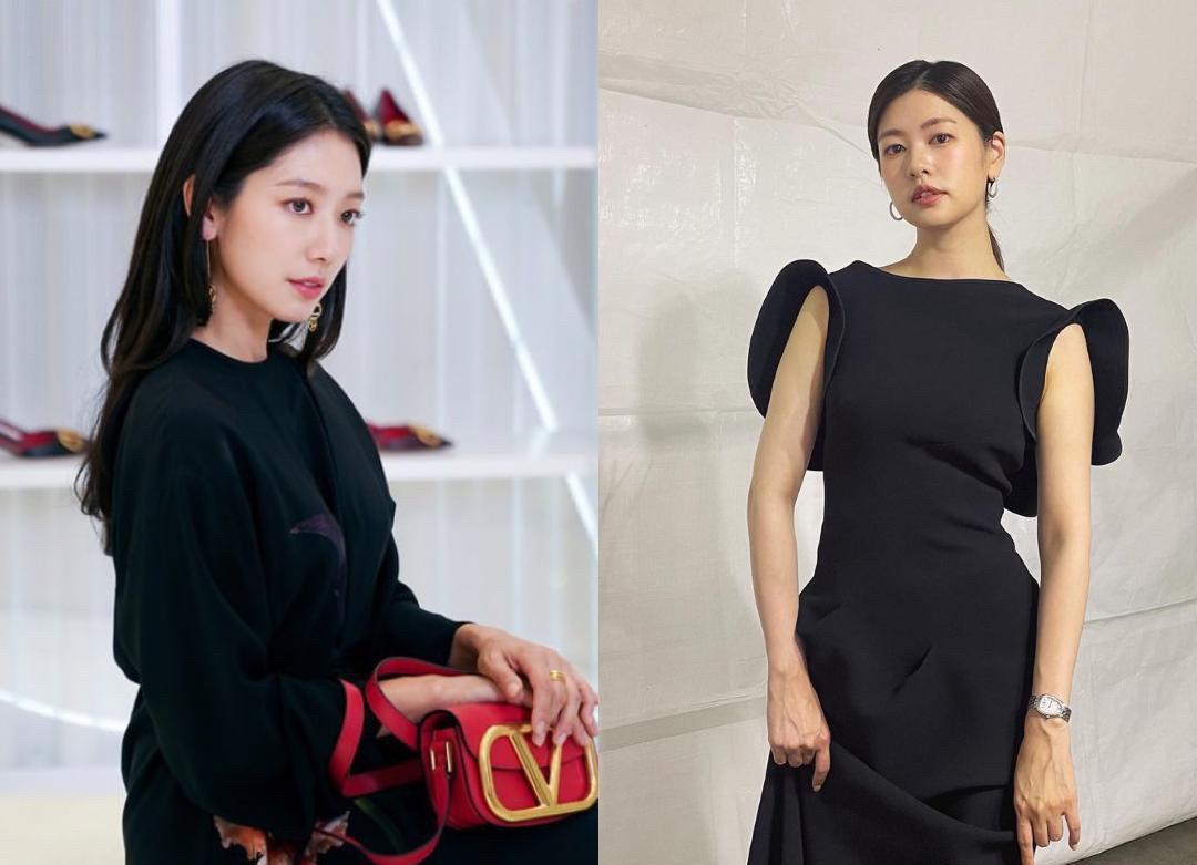 Park Shin Hye and Ryu Hwa Young