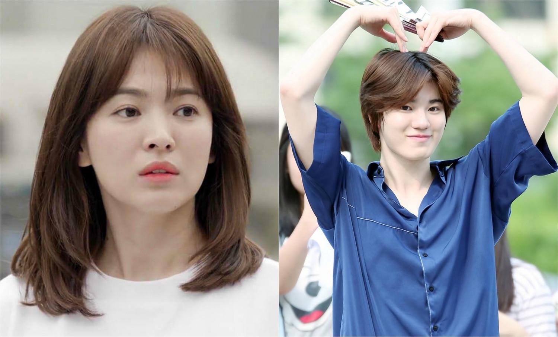 Song Hye Kyo and INFINITE's Sung Jong