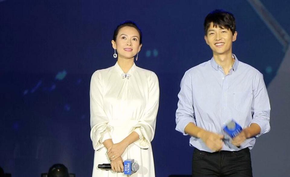 Chinese actress Zhang Ziyi South Korean actor Song Joong-ki