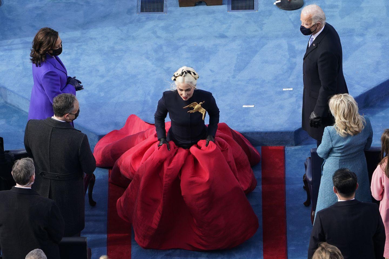 Gorgeous-Lady-Gaga-In-Presidental-Inauguration-Of-Joe-Biden-1