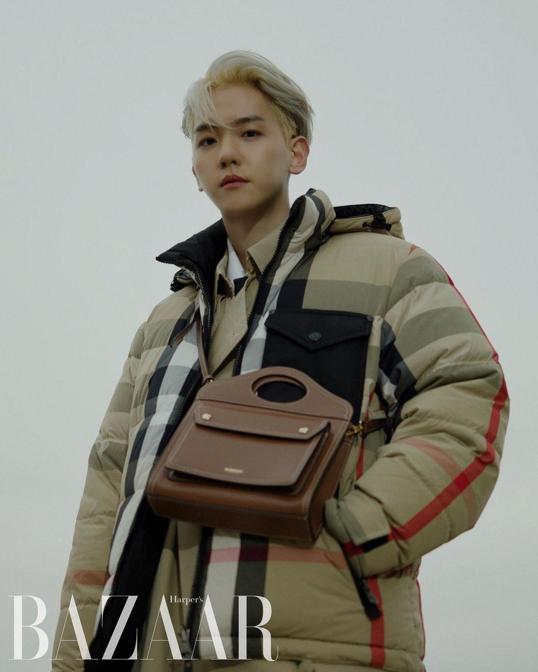 Baekhyun x Burberry For Harper's BAZAAR Korea: omonatheydidnt — LiveJournal