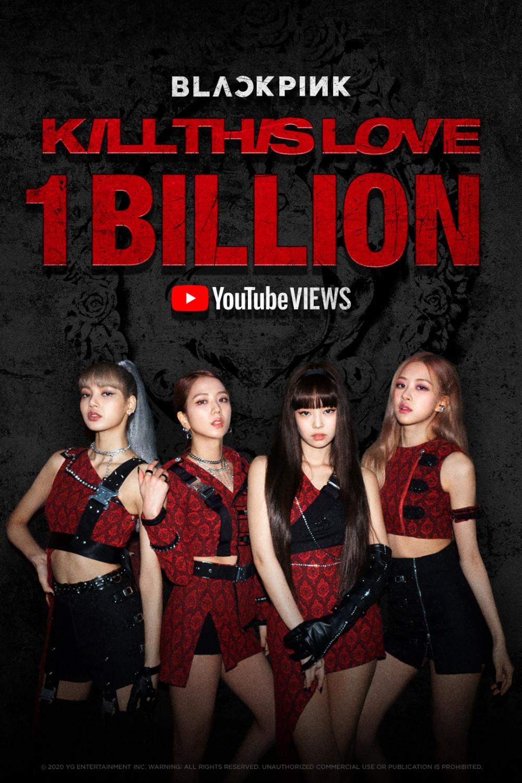 Blackpink 'Kill This Love' MV exceeded 1 billion views