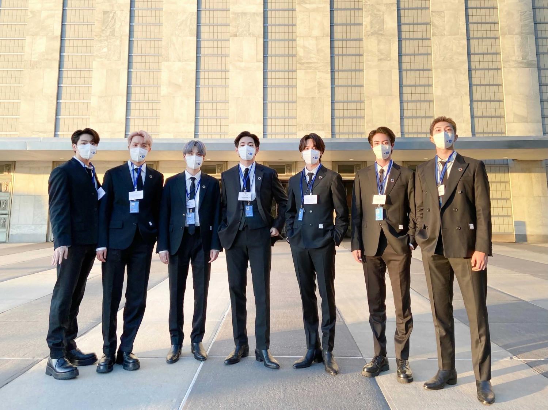 BTS at UN General Assembly